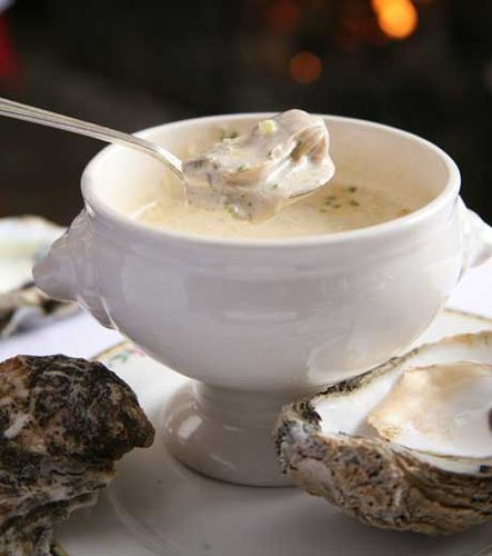 Soup-oysters